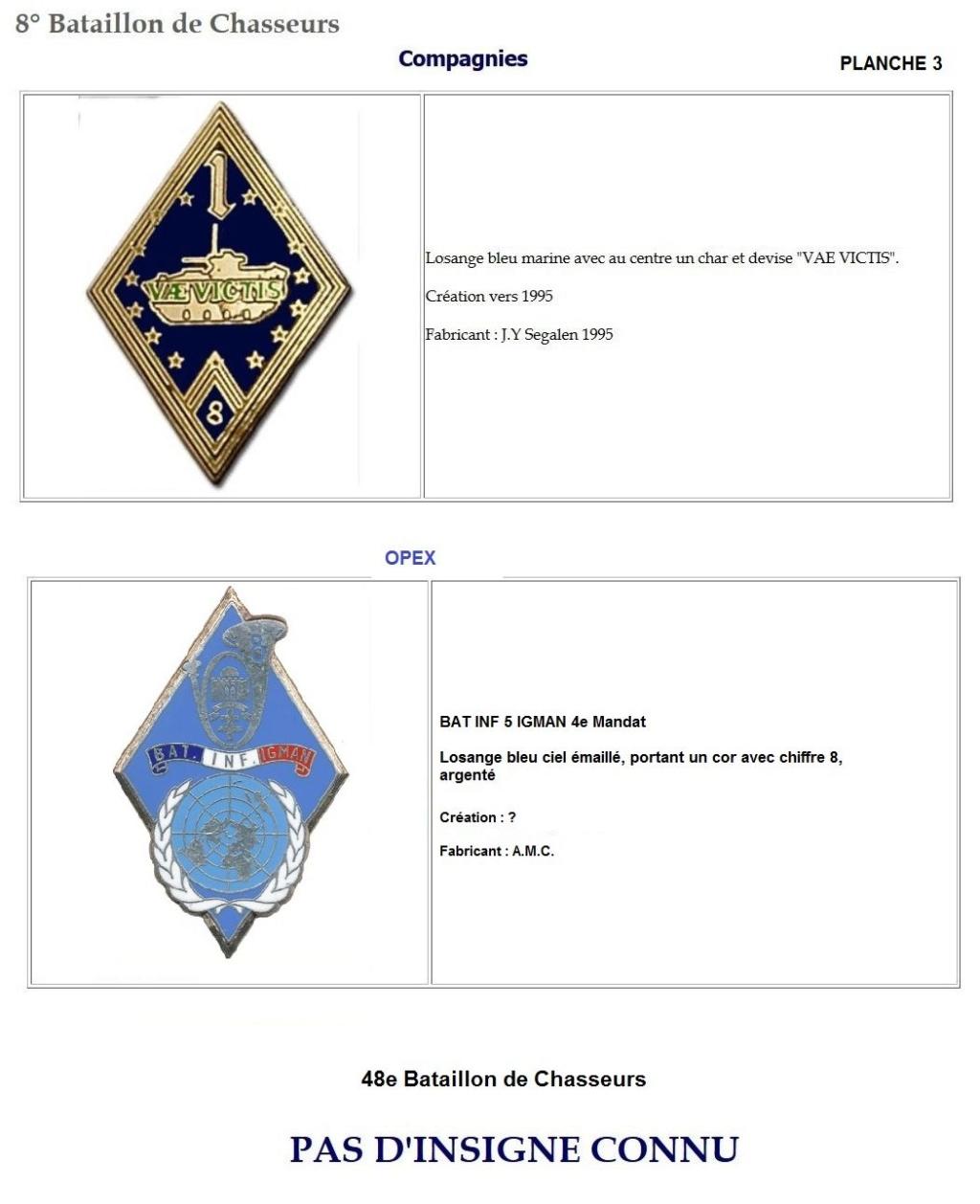 Les insignes de bataillons- Mise à jour... 8e_pla13