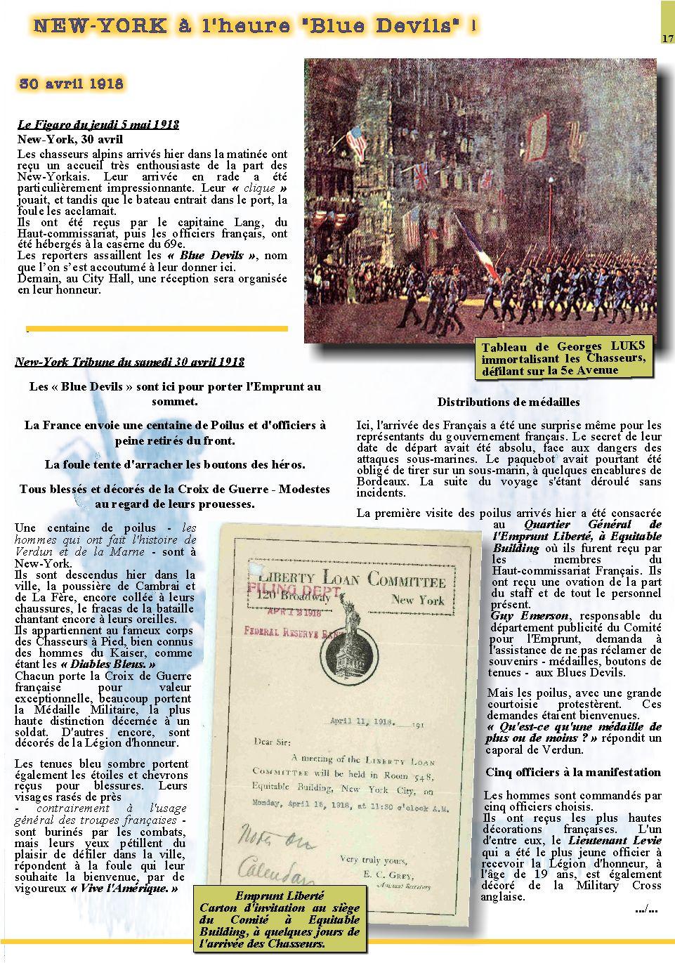 Les Alpins Français à New-York - Le Centenaire Page_119