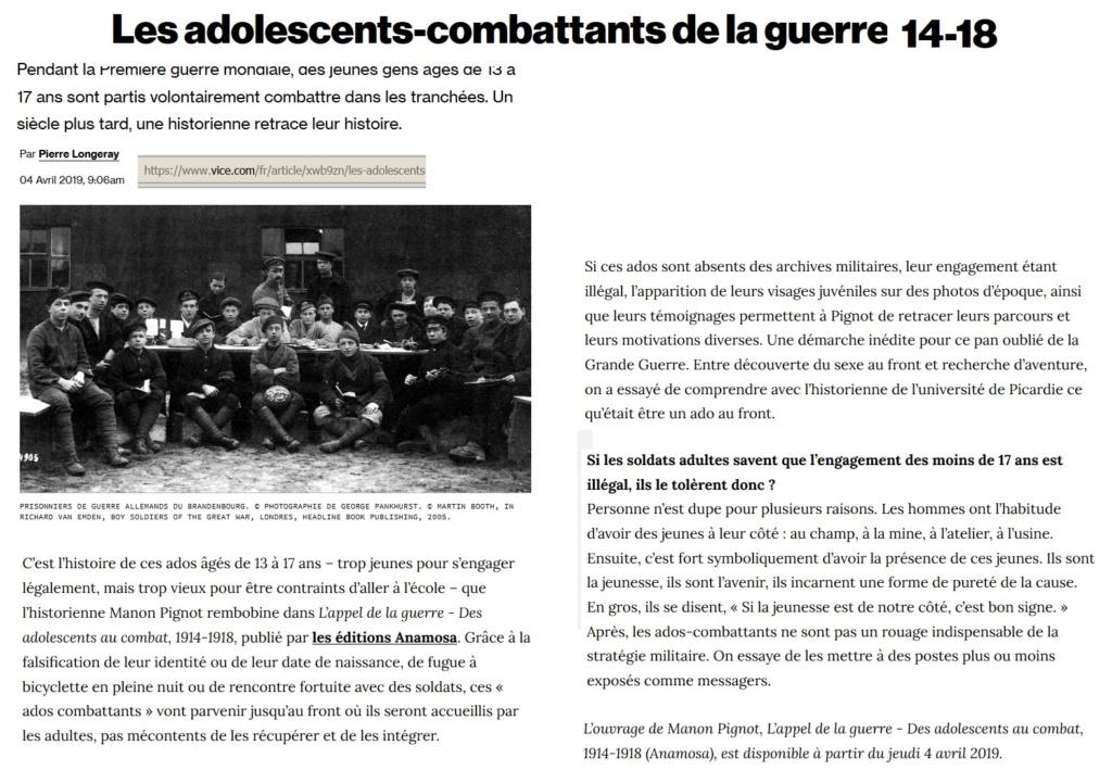 Les enfants-soldats de la Grande guerre. Sans_t10