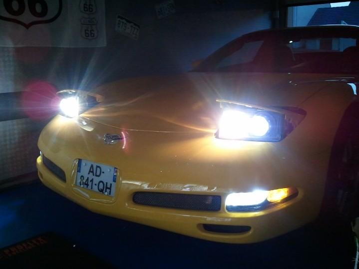 Démontage phares et montage d'un nouveau combiné xénon/LED Wp_00453