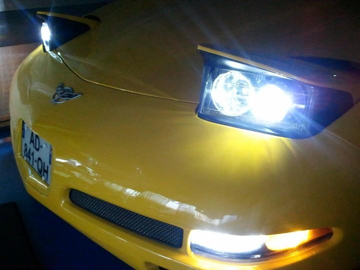 Démontage phares et montage d'un nouveau combiné xénon/LED Wp_00455