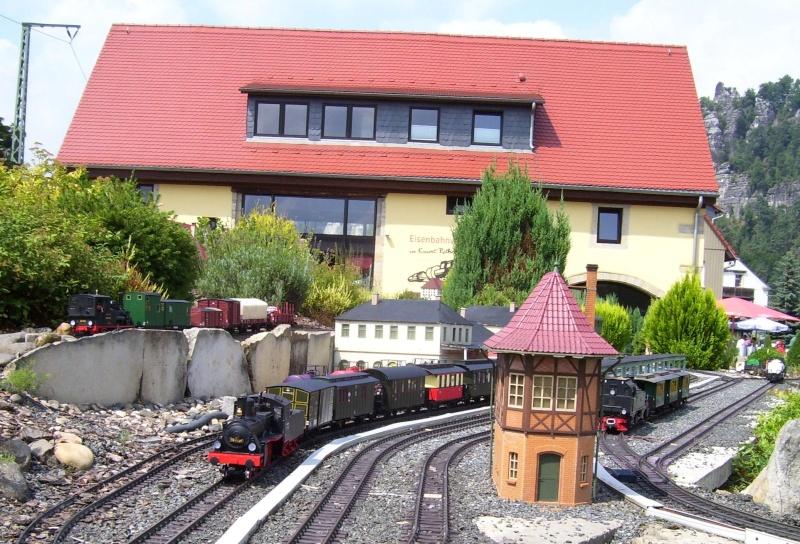 Egal welches Wetter - die Eisenbahnwelten im Kurort Rathen 100_1211