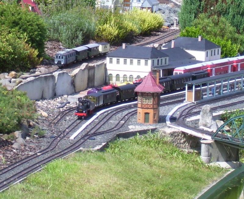 Egal welches Wetter - die Eisenbahnwelten im Kurort Rathen 100_1217