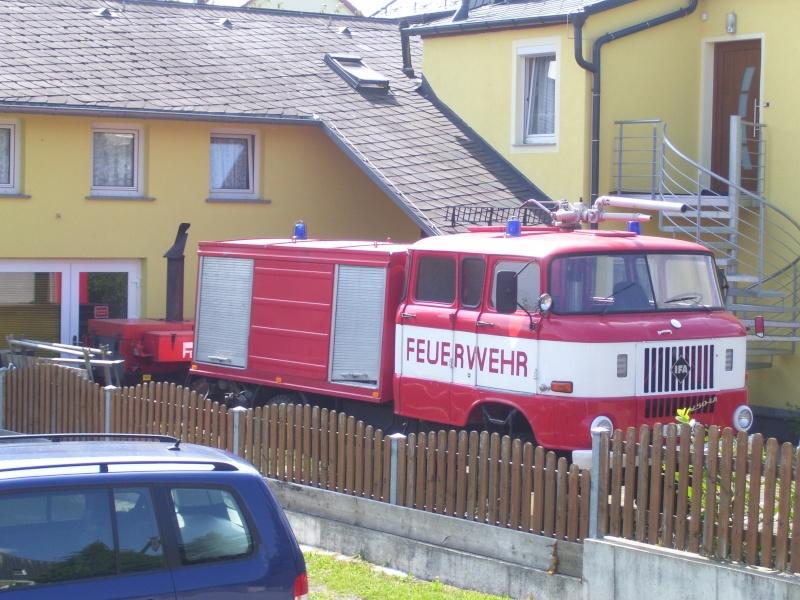 Feuerwehr wie aus der DDR - IFA W50 TLF 16 GMK 100_1511