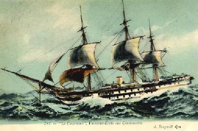 * LA COURONNE (1868/1908) * 777_0010