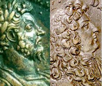Pièces Louis XIV difficile a reconnaitre Bradj10