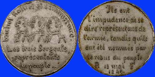 Médaille de la Révolution de 1848 ... Collig10