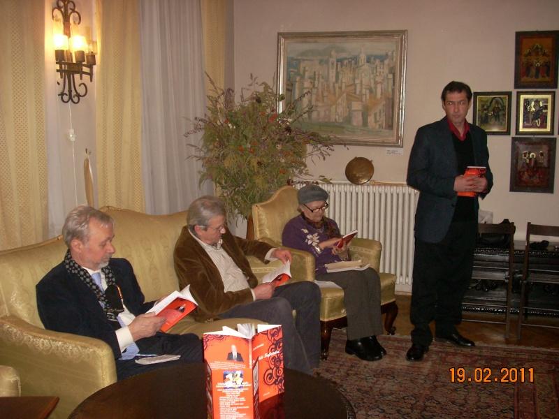 """19 februarie 2011-Sedinta a X-a Cenaclului U.P.-lansare de carte-""""Paralelele Sufletului""""-Florin Stratulat Cenacl10"""