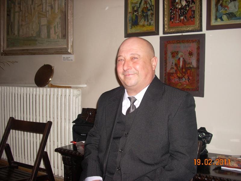 """19 februarie 2011-Sedinta a X-a Cenaclului U.P.-lansare de carte-""""Paralelele Sufletului""""-Florin Stratulat Cenacl15"""