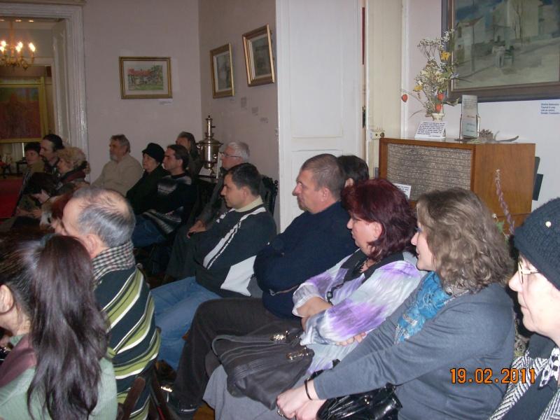 """19 februarie 2011-Sedinta a X-a Cenaclului U.P.-lansare de carte-""""Paralelele Sufletului""""-Florin Stratulat Cenacl16"""