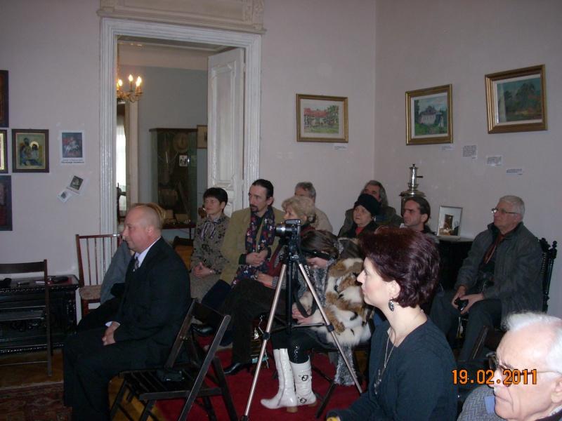 """19 februarie 2011-Sedinta a X-a Cenaclului U.P.-lansare de carte-""""Paralelele Sufletului""""-Florin Stratulat Cenacl17"""