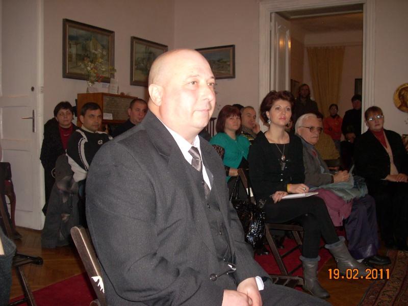 """19 februarie 2011-Sedinta a X-a Cenaclului U.P.-lansare de carte-""""Paralelele Sufletului""""-Florin Stratulat Cenacl18"""