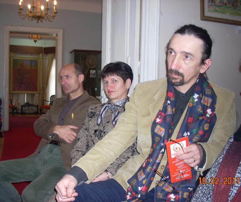"""19 februarie 2011-Sedinta a X-a Cenaclului U.P.-lansare de carte-""""Paralelele Sufletului""""-Florin Stratulat Cenacl21"""