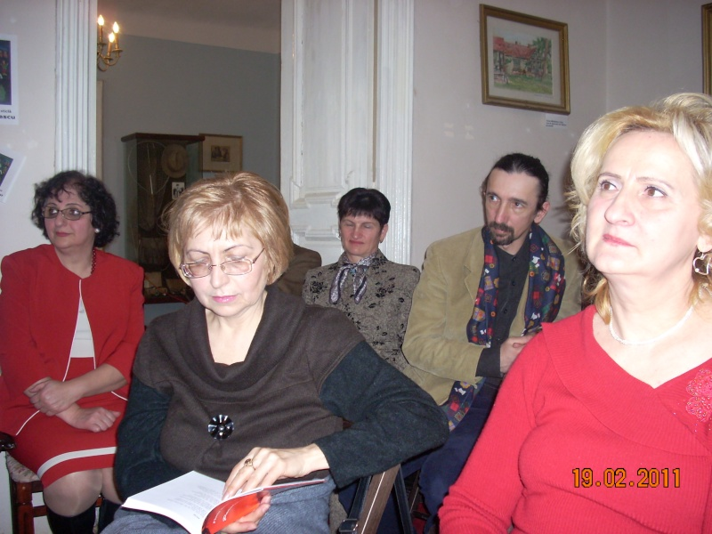 """19 februarie 2011-Sedinta a X-a Cenaclului U.P.-lansare de carte-""""Paralelele Sufletului""""-Florin Stratulat Cenacl23"""