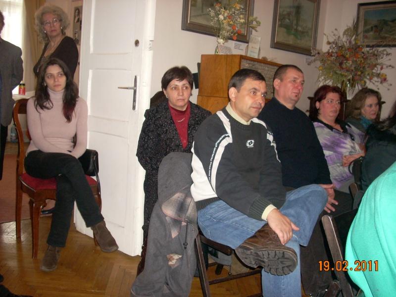 """19 februarie 2011-Sedinta a X-a Cenaclului U.P.-lansare de carte-""""Paralelele Sufletului""""-Florin Stratulat Cenacl25"""