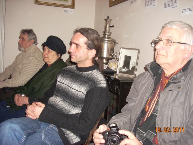 """19 februarie 2011-Sedinta a X-a Cenaclului U.P.-lansare de carte-""""Paralelele Sufletului""""-Florin Stratulat Cenacl27"""