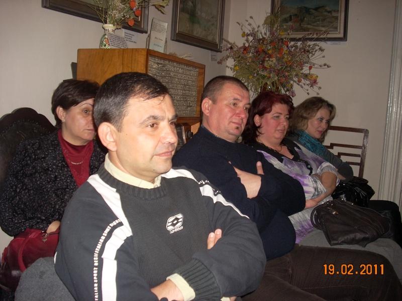 """19 februarie 2011-Sedinta a X-a Cenaclului U.P.-lansare de carte-""""Paralelele Sufletului""""-Florin Stratulat Cenacl28"""