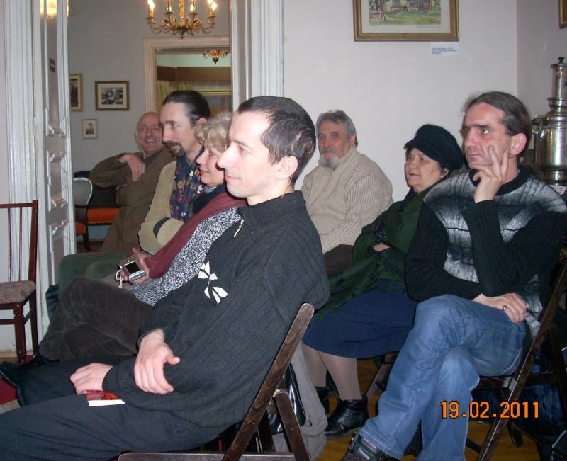 """19 februarie 2011-Sedinta a X-a Cenaclului U.P.-lansare de carte-""""Paralelele Sufletului""""-Florin Stratulat Cenacl30"""