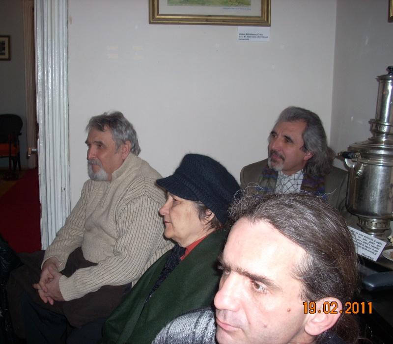 """19 februarie 2011-Sedinta a X-a Cenaclului U.P.-lansare de carte-""""Paralelele Sufletului""""-Florin Stratulat Cenacl32"""