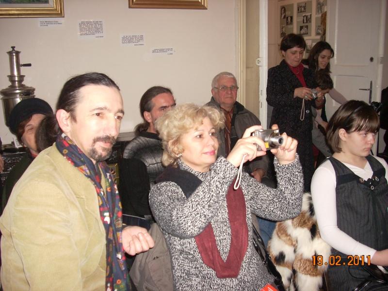 """19 februarie 2011-Sedinta a X-a Cenaclului U.P.-lansare de carte-""""Paralelele Sufletului""""-Florin Stratulat Cenacl35"""