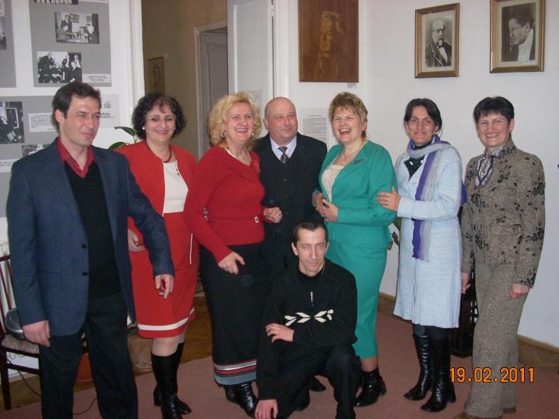"""19 februarie 2011-Sedinta a X-a Cenaclului U.P.-lansare de carte-""""Paralelele Sufletului""""-Florin Stratulat Cenacl45"""