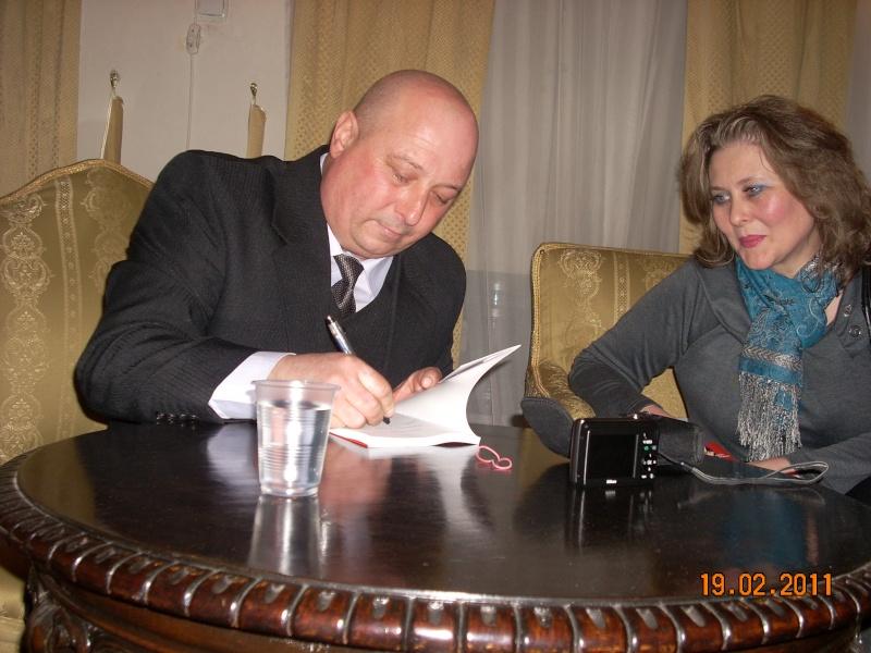 """19 februarie 2011-Sedinta a X-a Cenaclului U.P.-lansare de carte-""""Paralelele Sufletului""""-Florin Stratulat Cenacl46"""