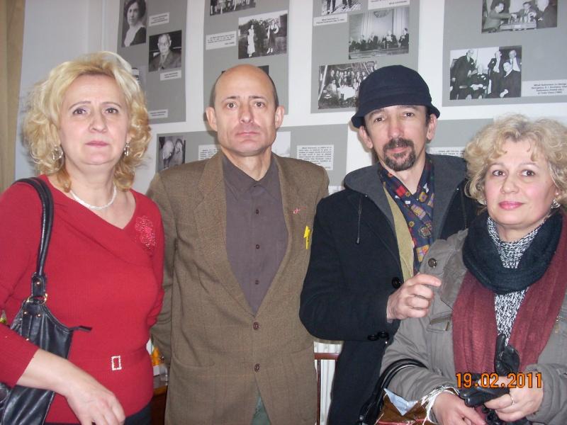 """19 februarie 2011-Sedinta a X-a Cenaclului U.P.-lansare de carte-""""Paralelele Sufletului""""-Florin Stratulat Cenacl53"""