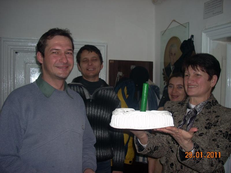 Să  ne amintim de profesorul Alexandru Husar şi să sărbătorim un prieten la 37 ani- Liviu Apetroaie- 29 ianuarie 2011 Sadove40