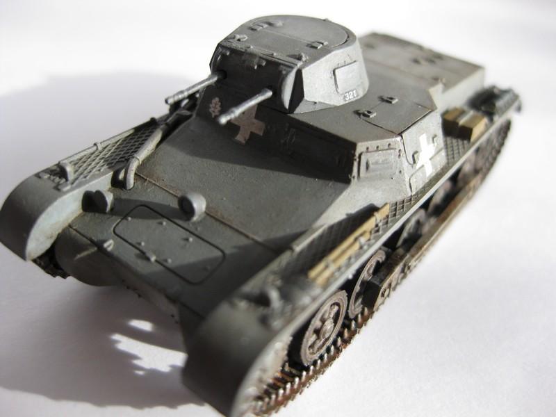 Pz.Kpfw I Ausf B [Fujimi; 1/76] FINI ! Photo100
