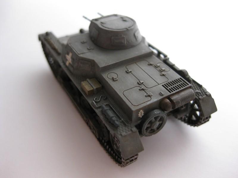 Pz.Kpfw I Ausf B [Fujimi; 1/76] FINI ! Photo101
