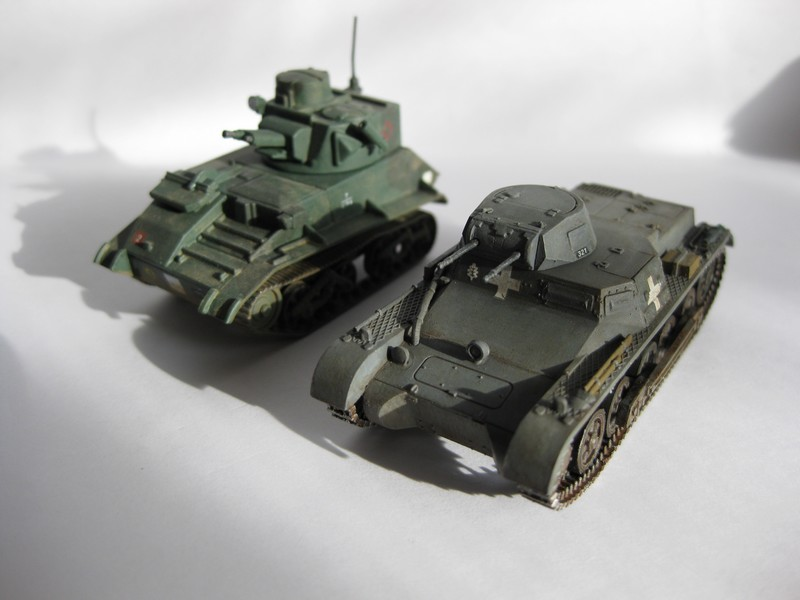 Pz.Kpfw I Ausf B [Fujimi; 1/76] FINI ! Photo104