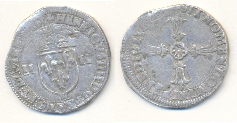 HENRI IV - Quart d'écu 1603& Aix Quart_11