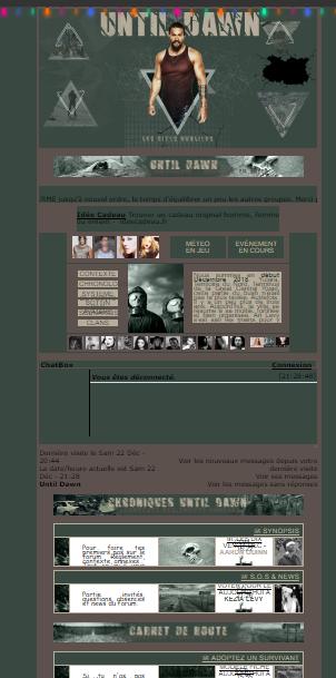 Until Dawn - post apo & zombies - dérivé de l'univers zombie et Mad Max Nex_de10