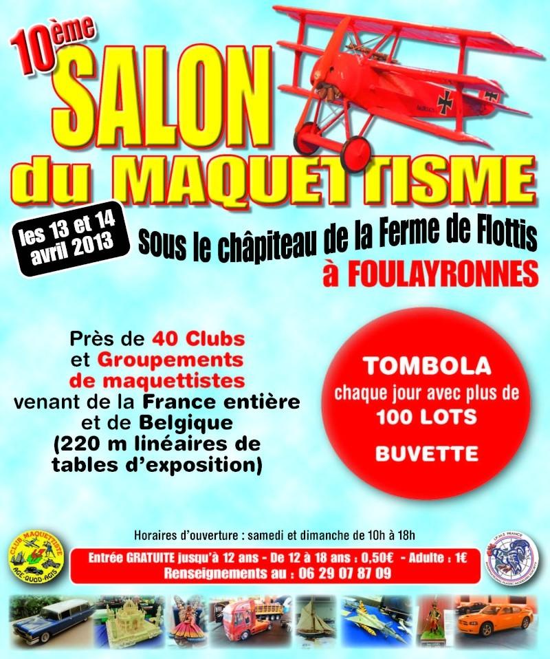 Exposition pour les 40 ANS du Club Maquettiste 47 d'AGEN Salon_10