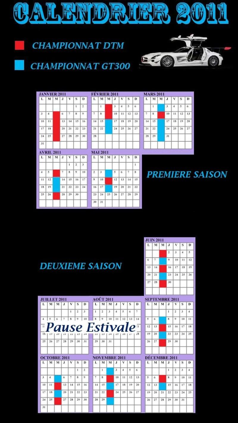 Calendrier des courses DTM 1ère et 2ème saison Calend11