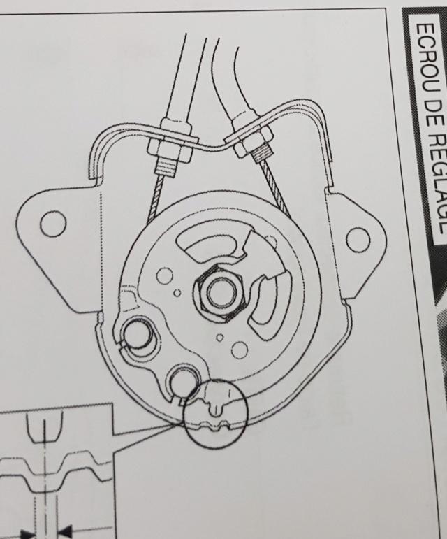 suppression valve EGCV / réglage de la poulie 20190810