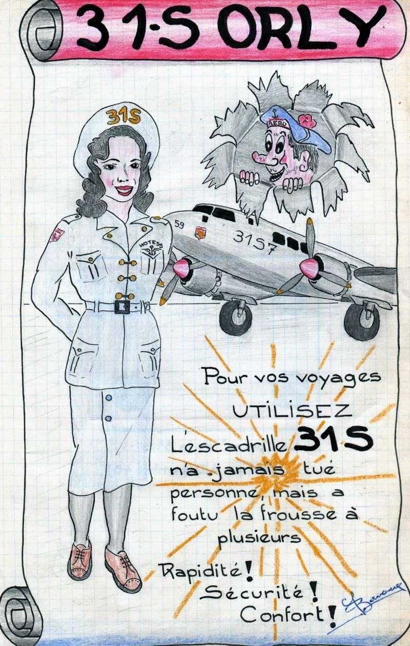 [Les flotilles et escadrilles] Escadrille 31 S Orly 1948 An2210