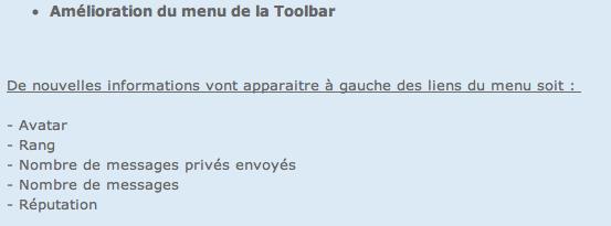 Nouvelles Mises à jour : Amélioration de la Toolbar et Optimisation de la Version Mobile  Captur13