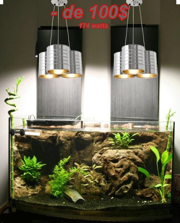 Éclairage pour bac ouvert... Lamp310