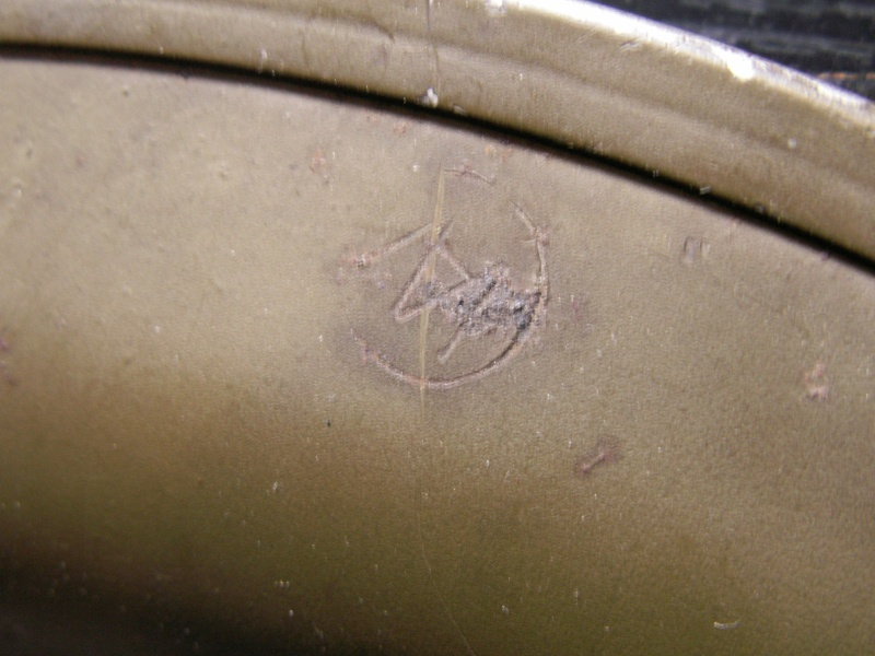 War Assets Stamp on MkII Helmet 00412