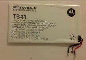 Motorola XOOM 2 3G MZ616 Battery TB41 Dr-xm410