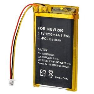 Garmin Nuvi 750 Battery 010-00583-00 PA-G006 Pa-g0011