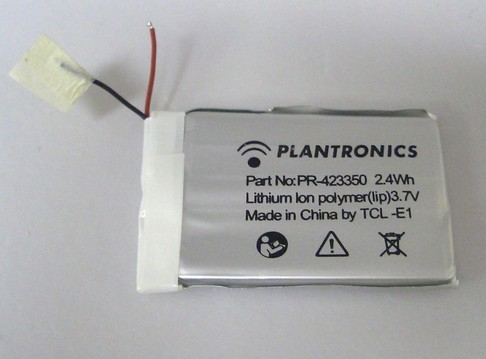 Plantronics K100 Bluetooth in-Car Speakerphone Battery PR-423350 PA-PL015 Pa-pl016