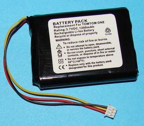 Tom Tom One GPS Battery F650010252 PA-TMONE Pa-tmo10