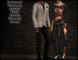 Повседневная одежда - Страница 5 Image406