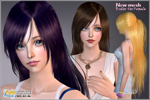 Женские прически (длинные волосы) Image464