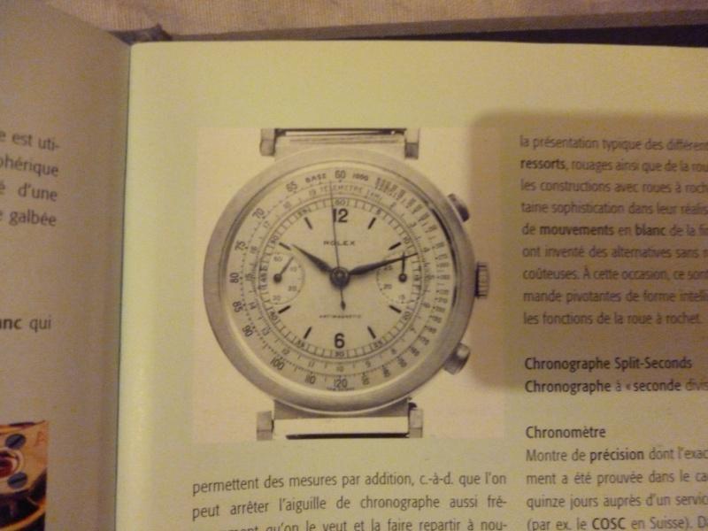 PIECE EXCEPTIONNELLE : TRES RARE Rolex chronograph 2 compteurs, anses articulées, référence 2705, numéro 38325,  acier des années 30; toute signée. Photo_10