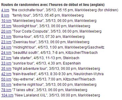 7 Seen Wanderung, de 104 à 4 km (17 choix): 3-5 mai 2013 7-seen10