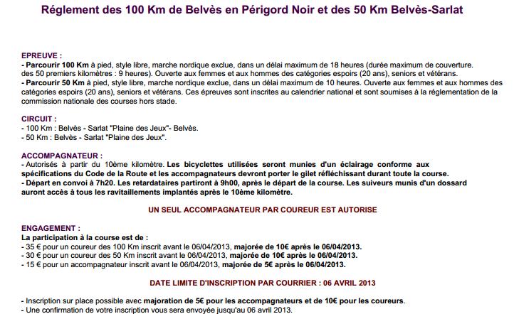 50 / 100 km du Périgord Noir, Belvès (24) : 27 avril 2013 Belvas15
