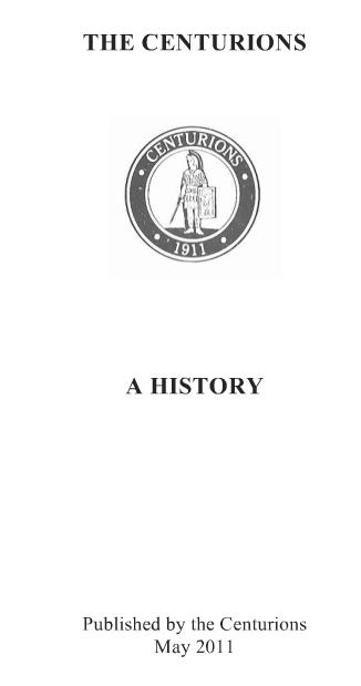 The centurions  -  a history; des origines à 2011  Centur12